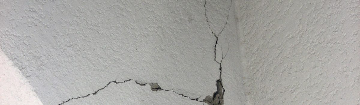 Before Repairing Those Cracks, Make Sure it is Level